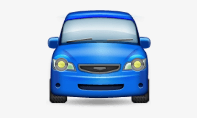 Free Png Ios Emoji Oncoming Automobile Png Images Transparent