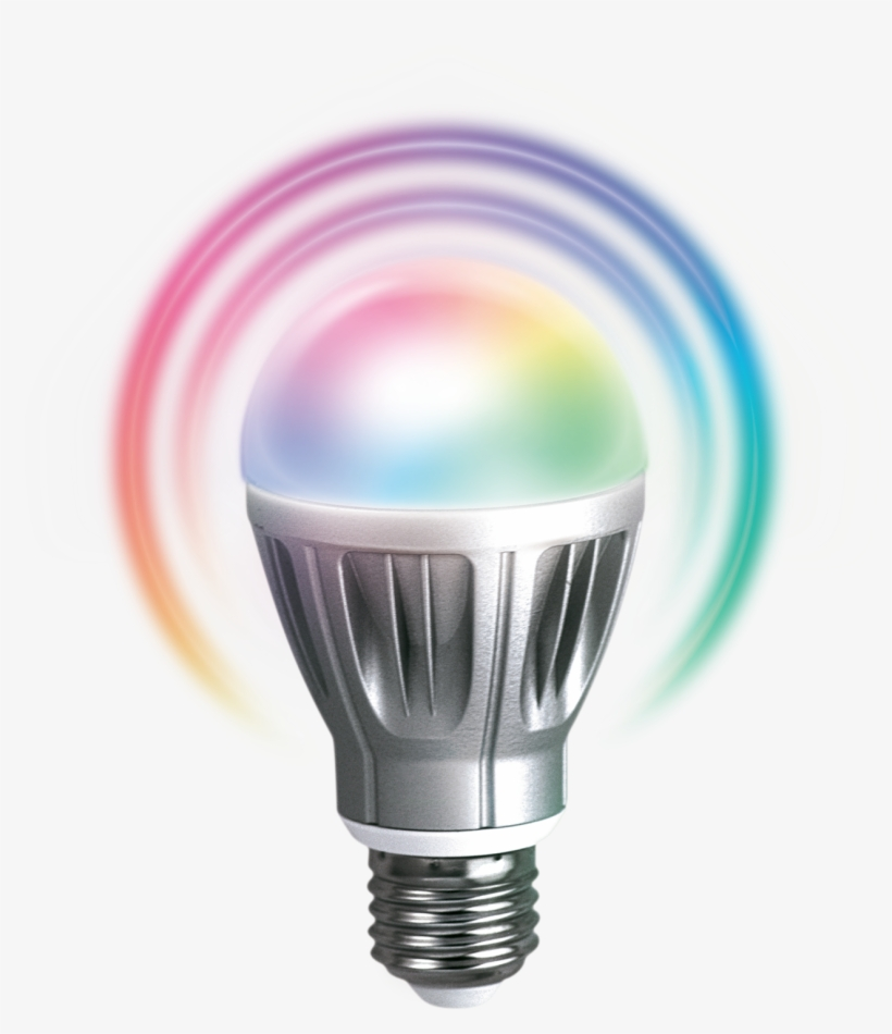 Light Bulb Png Transparent Download - Zipato Rgb Led Bulb Z-wave Led Bulb, transparent png #3892973