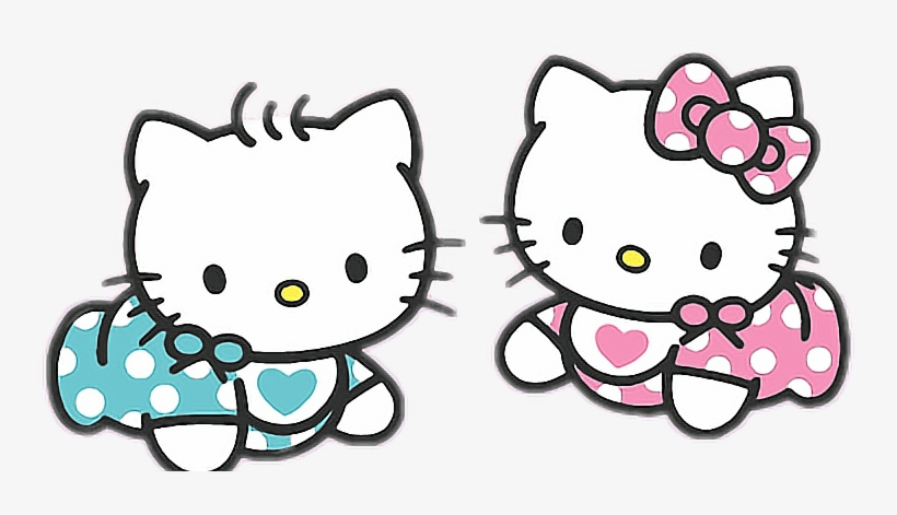 Report Abuse - Dear Daniel And Hello Kitty Baby - Free Transparent PNG Download - PNGkey