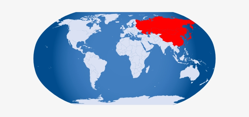 Earth Clipart Asia Png - Large World Map Vector - Free ...