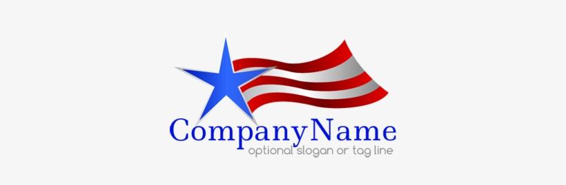American Flag Logo Png - American Flag, transparent png #391394