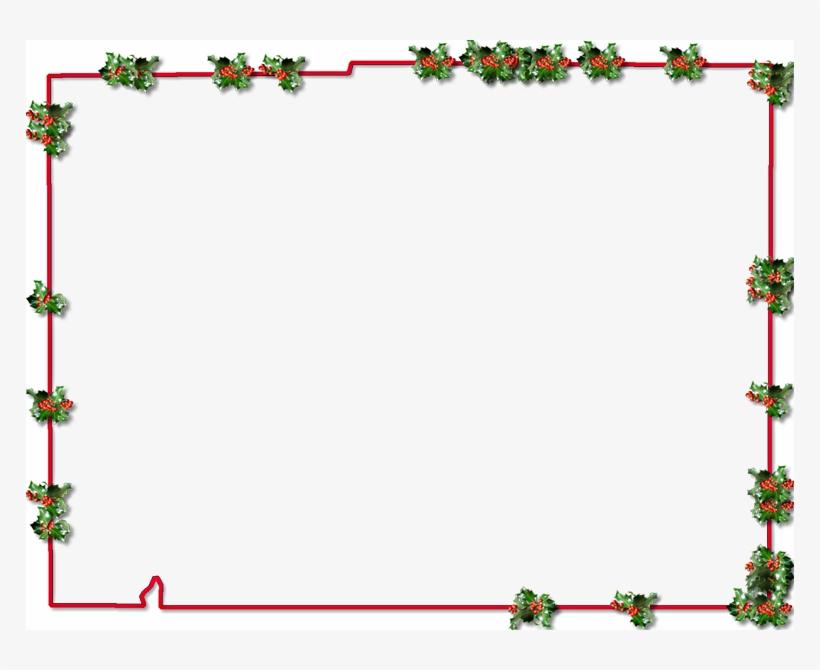 Christmas Border Frame Png, transparent png #391633