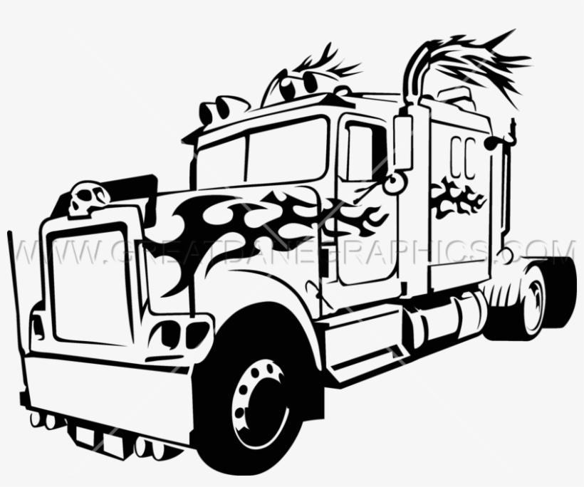 Big Truck At Getdrawings Free Download