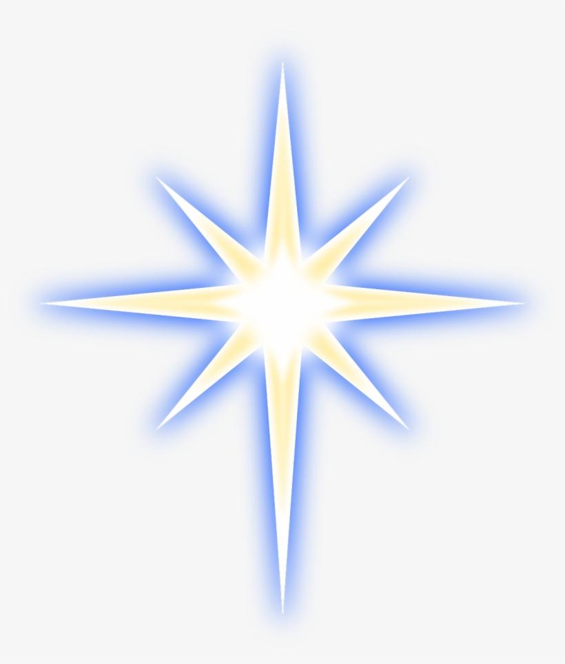 Christmas Tree With Flashing Lights - Christmas Star, transparent png #392148
