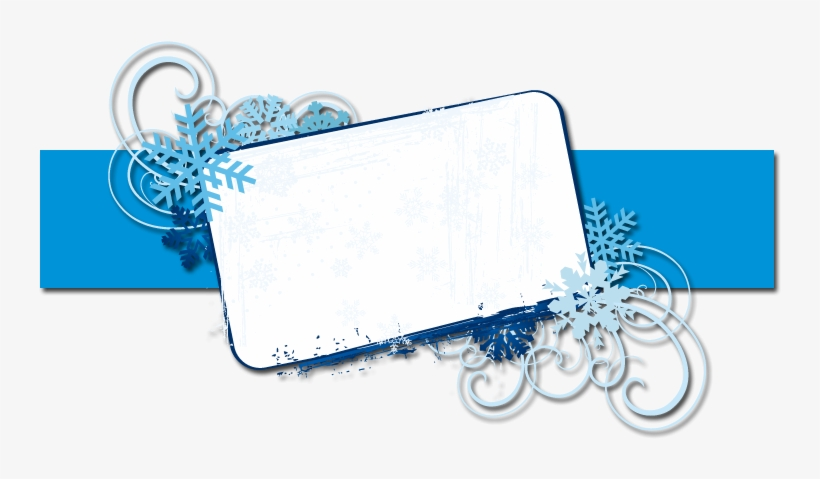 Winter Banner Blog Banner The Cutest Blog On The Block - Banners Design Templates Png, transparent png #392181