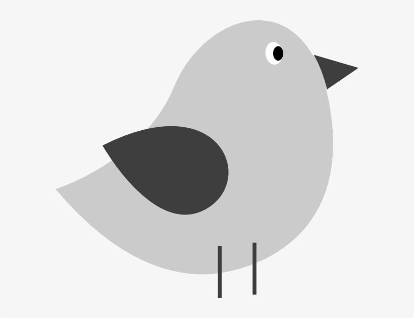 Bird Clip Art - Cute Bird Silhouette Png, transparent png #393037