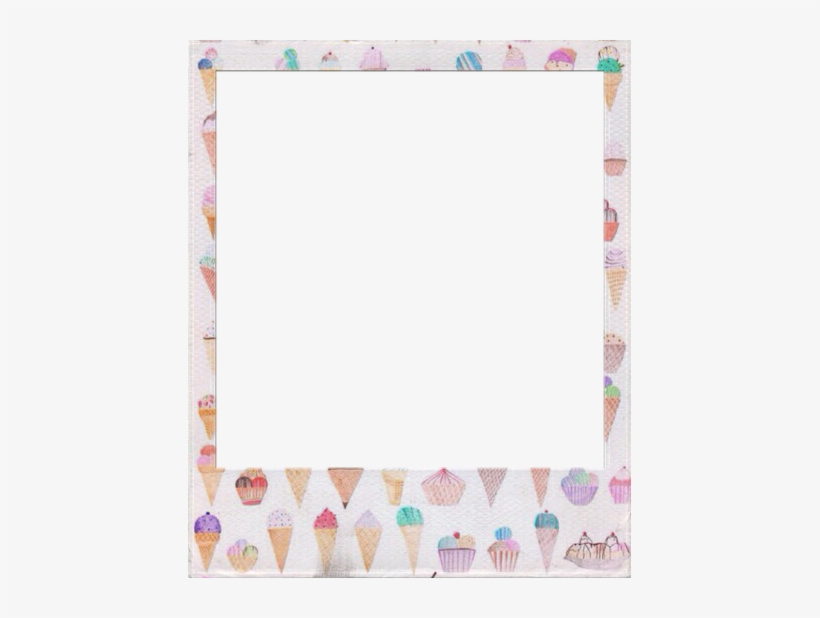 Clip Art Royalty Free Images Of Transparent Template - Polaroid Frame Tumblr Hd, transparent png #394269
