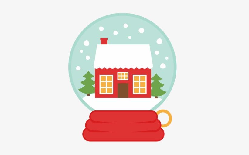 House Snow Globe Svg Scrapbook Cut File Cute Clipart - Christmas Snowglobe Clip Art, transparent png #396169