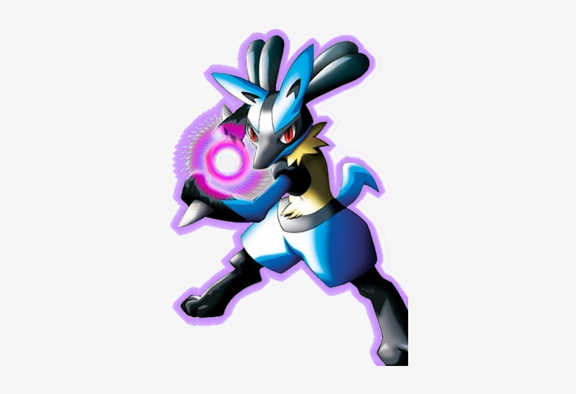 The Lucario In The Movie Can Also Speak Human Languages - Pokemon Lucario, transparent png #397330