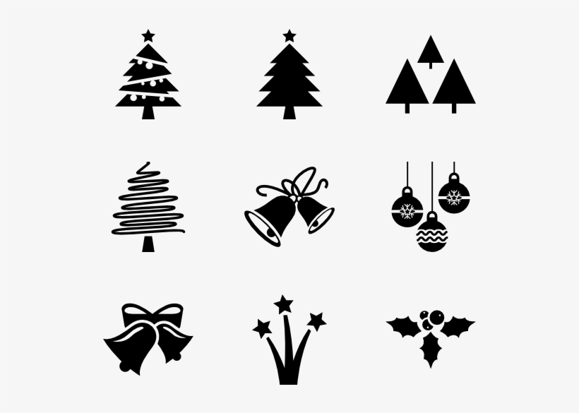 Christmas Christmas Tree Vector Icon Free Transparent Png