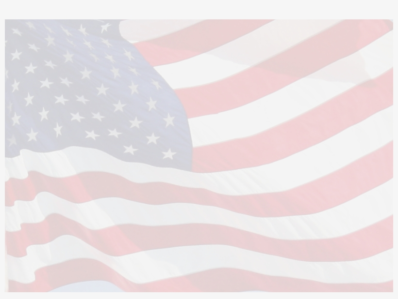 American flag faded. Transparent background clipart united
