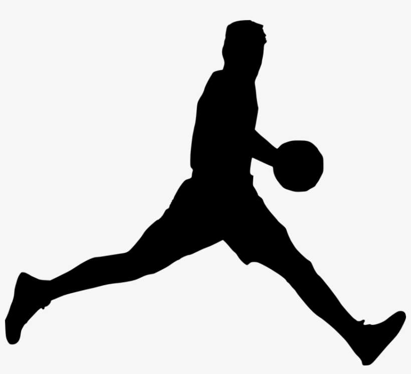 Free Images Toppng Transparent - Basketball Player Silhouette Png, transparent png #398549