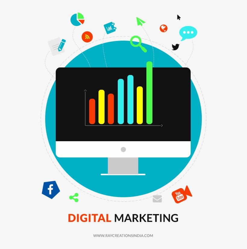 Digital Marketing Services - Digital Marketing Png Pict, transparent png #398677
