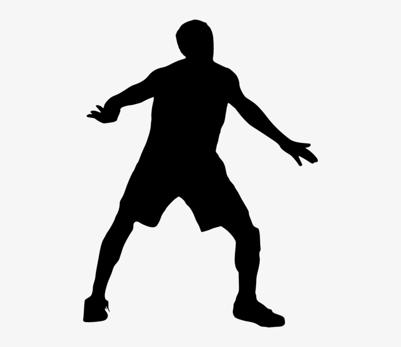 Free Png Basketball Player Silhouette Png Images Transparent - Transparent Basketball Player, transparent png #398717