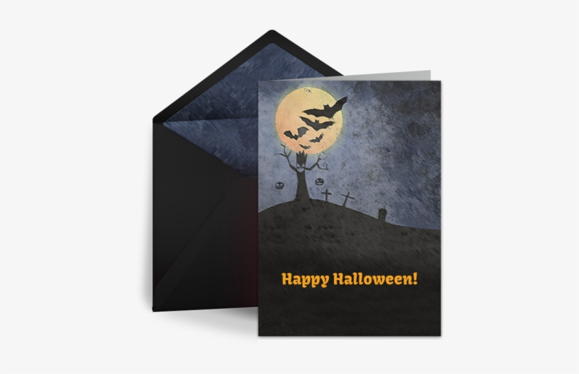 Happy Halloween Gorgeous Wishes To You - Happy Halloween Cards, transparent png #3900417