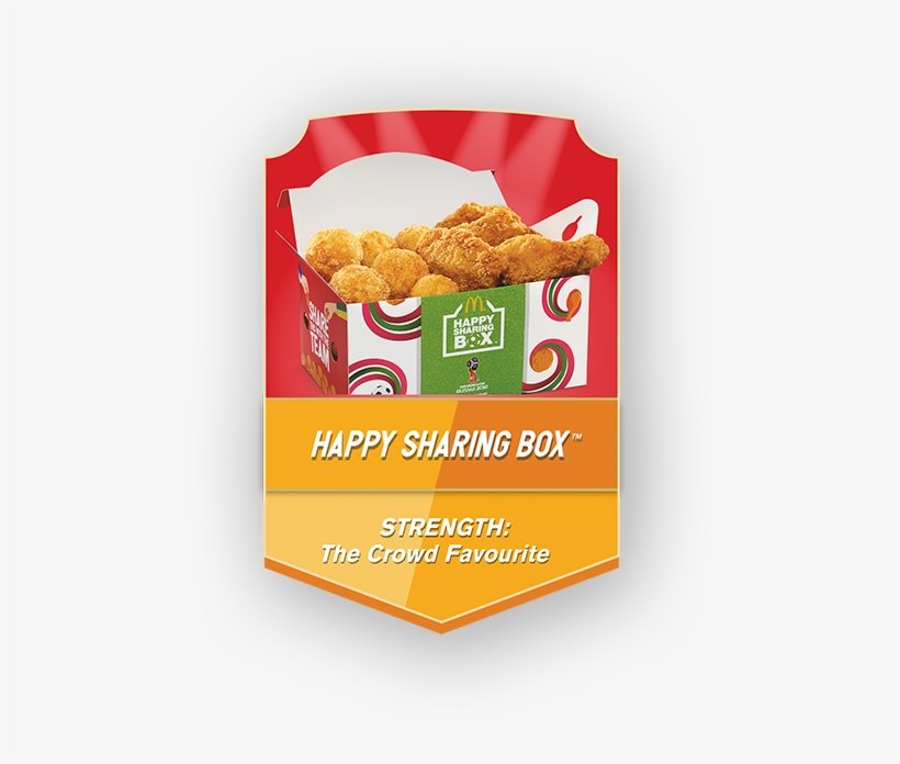 Chicken Pizza Kicks (12pc) Mcwings® (8pc) - Happy Sharing Box Fifa World Cup, transparent png #3901308