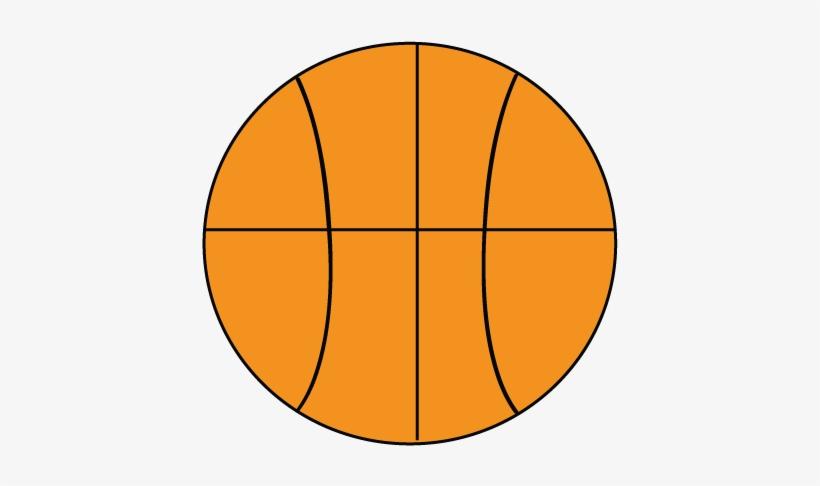13876 Basketball Goal Clipart Basketball Goal Clipart - Basketball Clipart Easy, transparent png #3901918