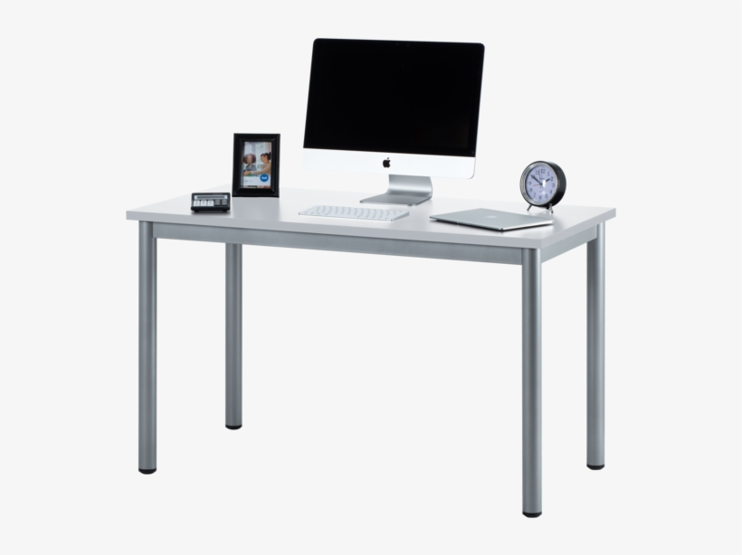 "Fineboard 47"" Home Office Computer Desk Writing Table, - Transparent Background Computer Desk Png, transparent png #3902168"