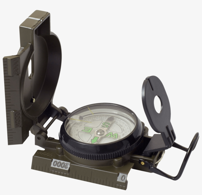 Humvee Accessories Hmvcompassod Military Compass Black - Humvee Hmv-compass-od Military Style Compass, transparent png #3904499