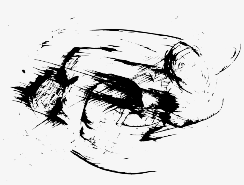 Png File Size - Scratch On Face Drawing, transparent png #3904727