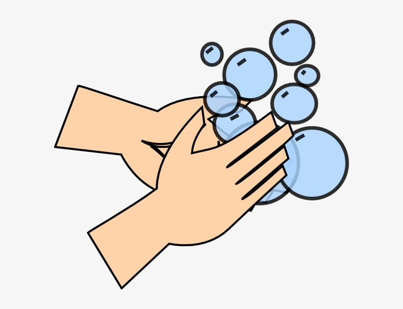 Hand Washing Clip Art At Clker Com Vector Clip Art Clip Art