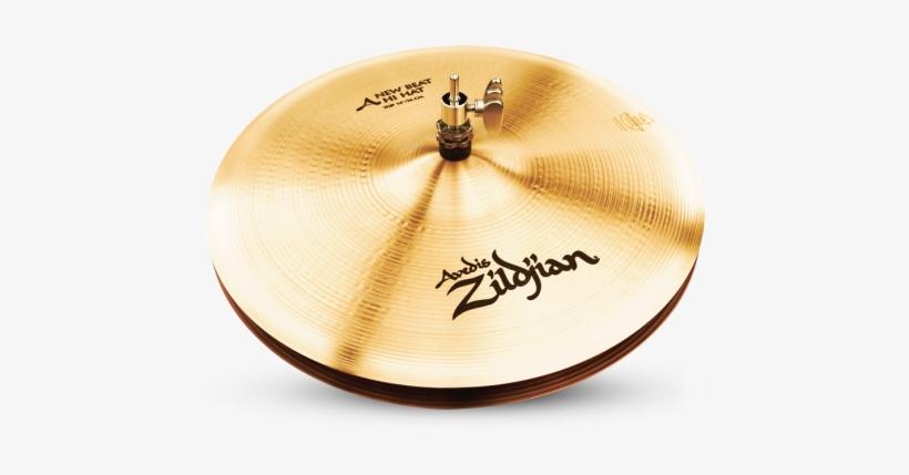 """Zildjian A New Beat Hi Hat Cymbal Top 14"""" Zildjian - Zildjian 14"""" A Series New Beat Hi-hat Cymbals (pair), transparent png #3905353"""