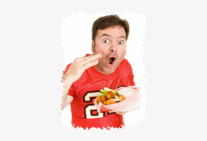 To Enter Into The Wing Eating Contest To See If You - Hot Wings Man, transparent png #3906721