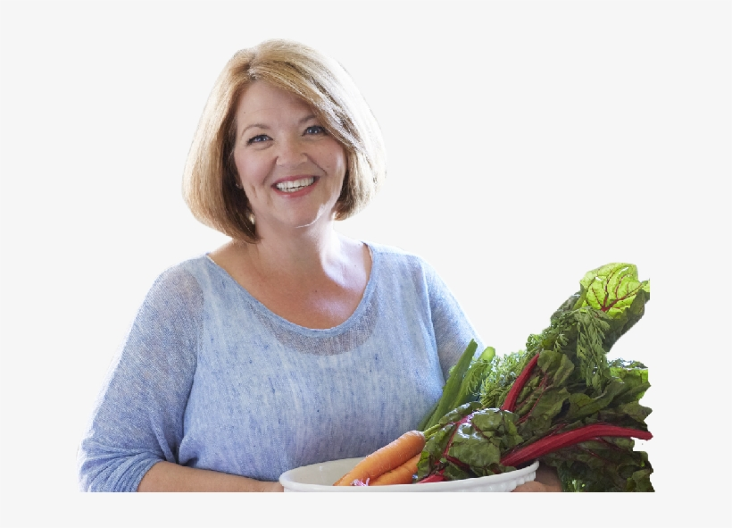 Trish Krause With Homegrown Vegetables From Her Garden - Vegetable, transparent png #3907600