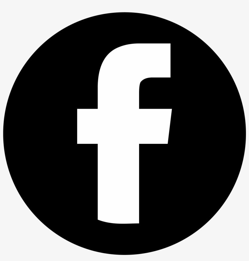 Facebook Black Circle - Alcance De Las Redes Sociales, transparent png #3911645