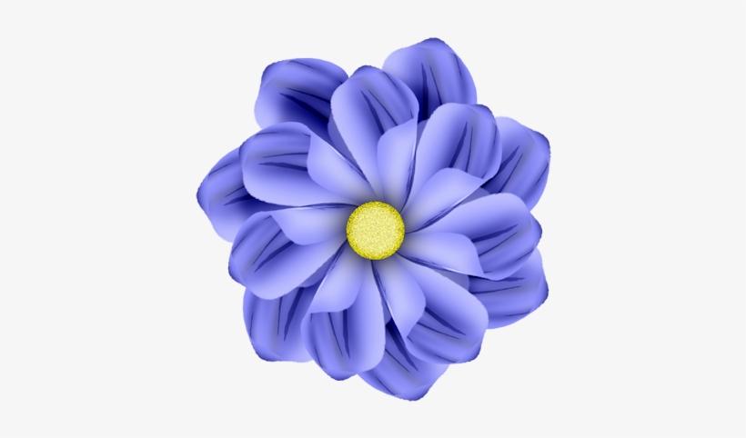 0 57f1c 2ca110bd Orig - Purple And Blue Cartoon Flowers