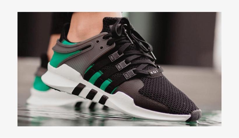Adidas Eqt Support Adv Black Sub Green - Adidas Eqt Black And ...