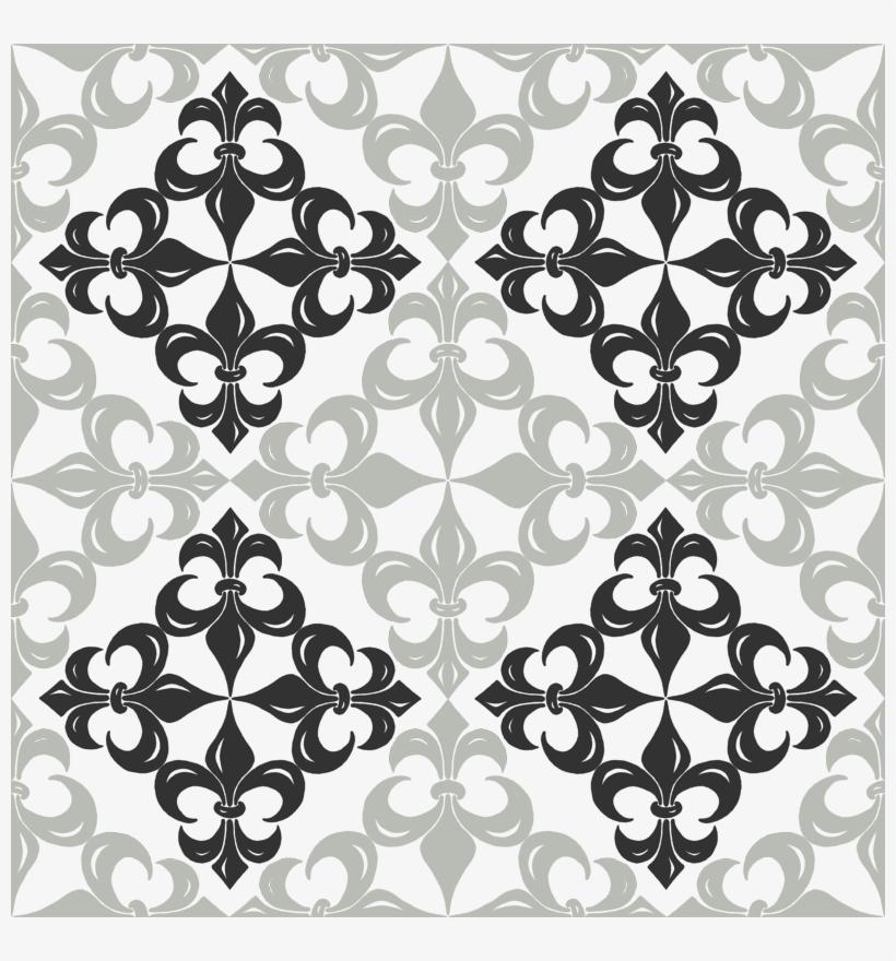 Fleur De Lis Pattern - Fleur De Lis Patterns, transparent png #3914160