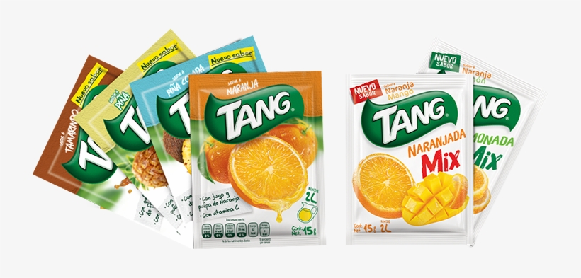 Que Te Pueden Acompañar En Todo Momento - Tang Instant Drink Mix, Mango Flavor, 125 G Pouch, transparent png #3915641
