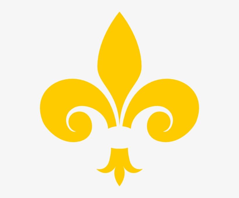 Gold Fleur De Lis Clip Art, transparent png #3918676
