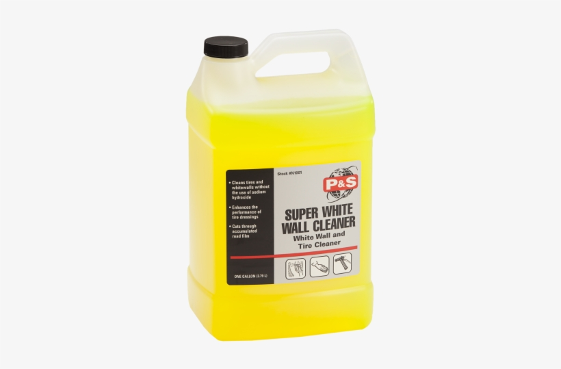 Super White Wall Cleaner - P&s Detail Products P&s Extractor Shampoo -, transparent png #3919605