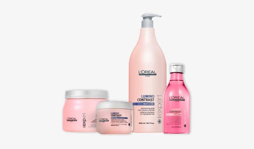 L ́oreal Expert Lumino Contrast Shampoo 1500 Ml, transparent png #3920419