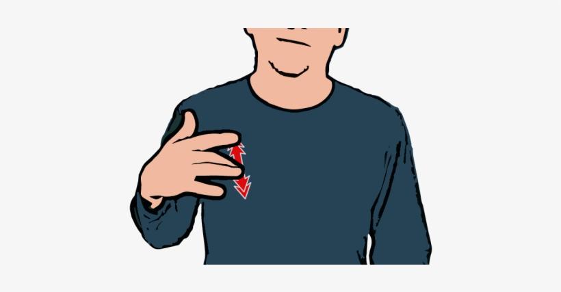 Address - Tired In British Sign Language, transparent png #3923095