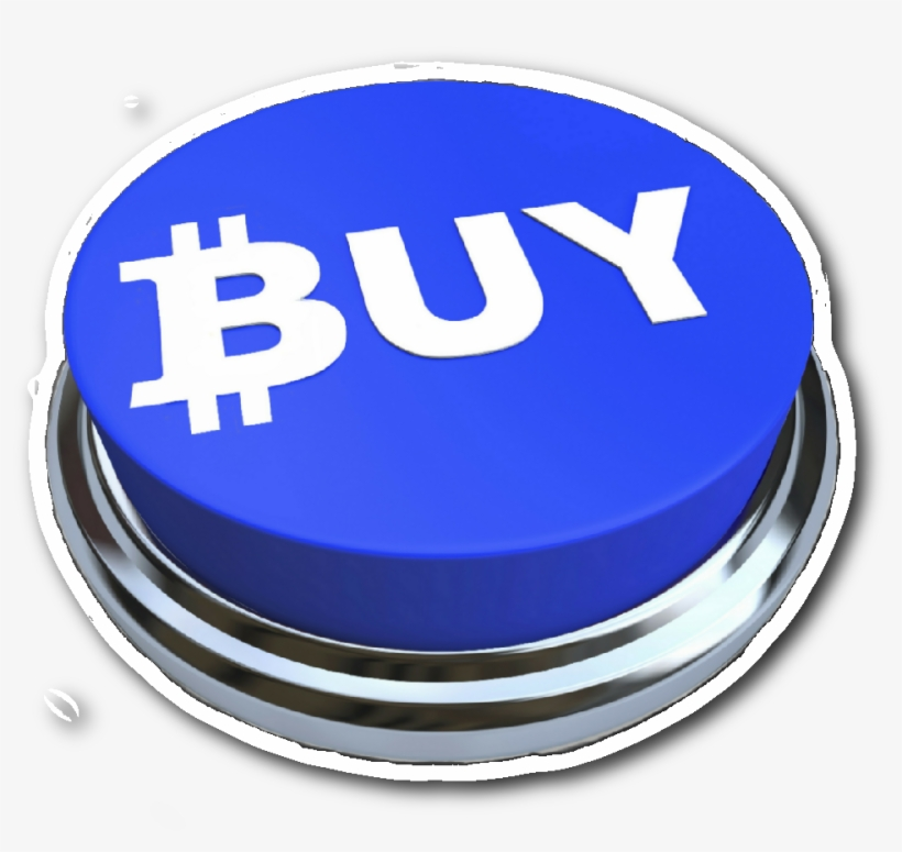 Bitcoin Buy Button Sticker - Buy Button, transparent png #3924110