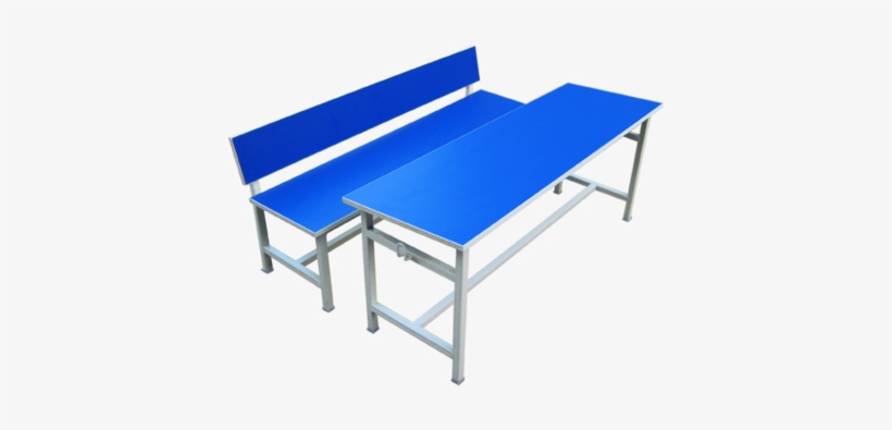 Student Desk- Four Seater Chair - College Furniture Manufacturers In Chennai, transparent png #3925507
