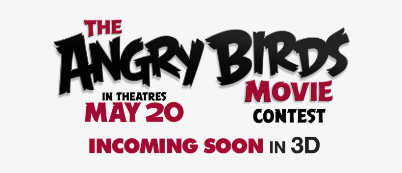 The Angry Birds Movie Contest - Angry Birds Movie Title, transparent png #3929726