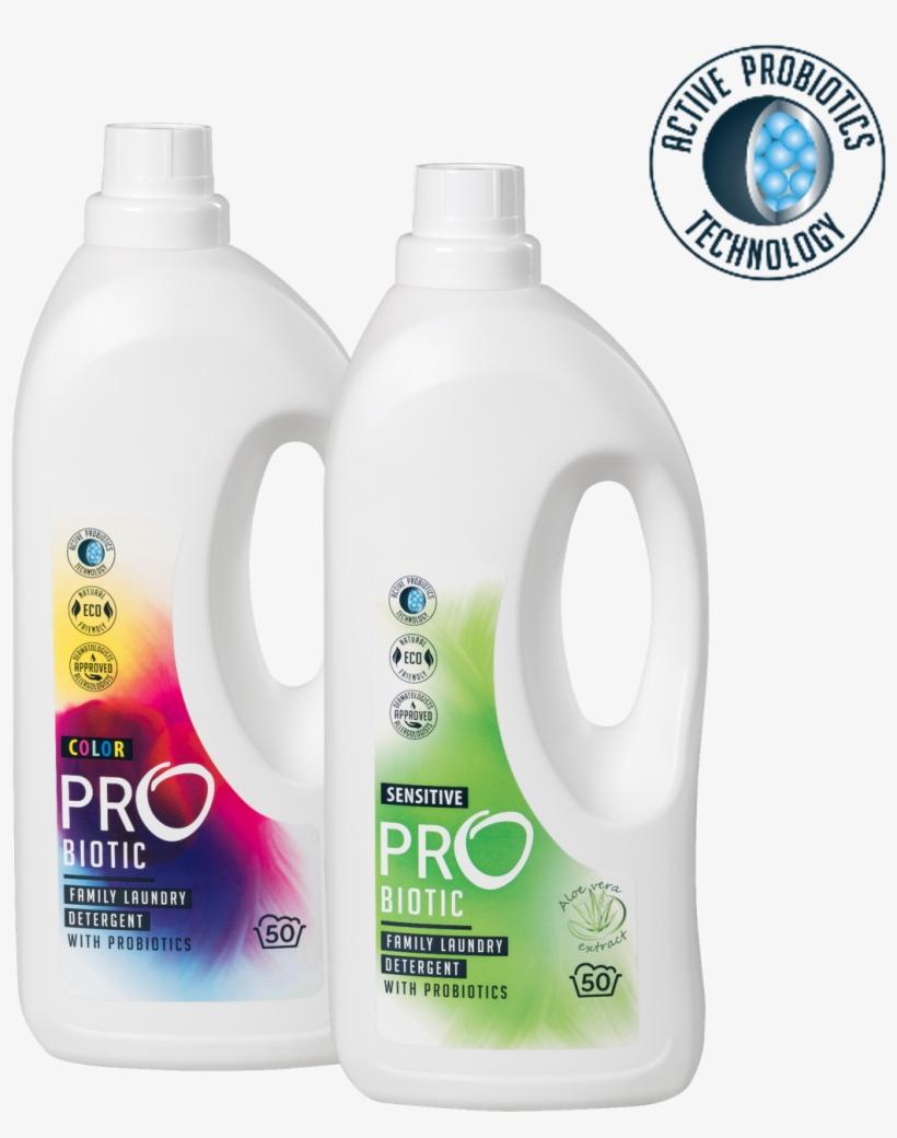 New Probiotic Liquid Laundry Detergents With Unique - Probiotic Detergent, transparent png #3932013