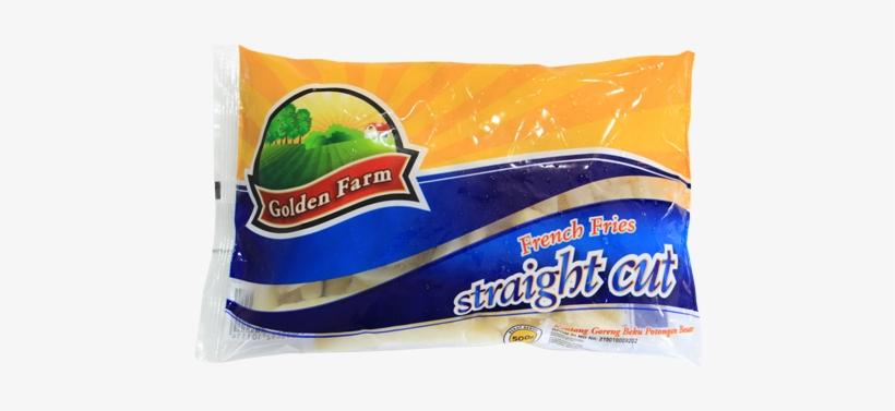 Golden Farm French Fries Straight Cut 500 Gr - French Fries Straight Cut Golden, transparent png #3932926
