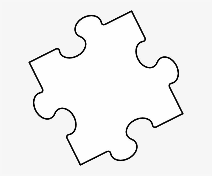 picture relating to Free Printable Puzzle Pieces Template named Blank Puzzle Areas, Puzzle Piece Crafts, Autism Puzzle
