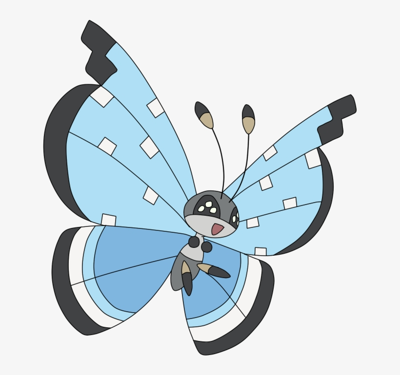 Pokemon Vivillon-tundra Is A Fictional Character Of - Imagenes Del Pokemon Vivillon, transparent png #3946423