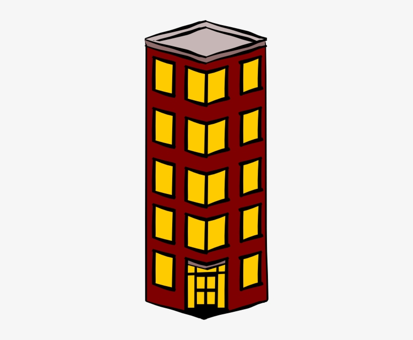 Flat Building, House, Building, Tall Building PNG Transparent Clipart Image  and PSD File for Free Download