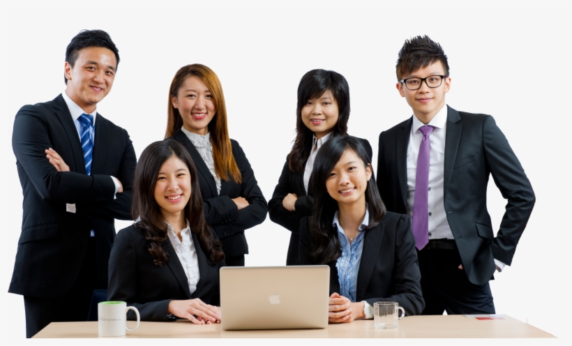 Our Recruitment Team Runs Our Recruitment Process Like - Asian Business People Png, transparent png #3949207
