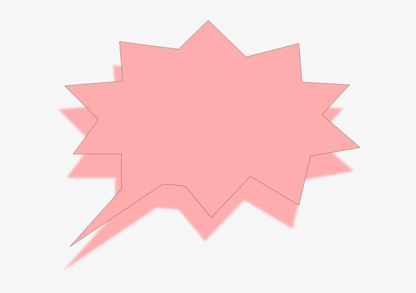 Pink Speech Bubble Png, transparent png #3955524