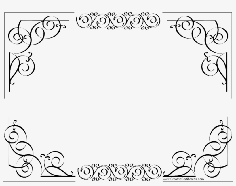 certificate border clipart template microsoft word border for