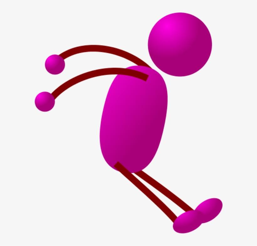 Free Download Stick Man Running Clipart Stick Figure - Stickman Drawing Cartoon, transparent png #3960931