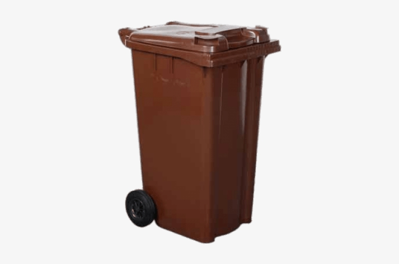 Free Png Bin Wheelie Brown Png Images Transparent - British Brown 240 Litre Wheelie Bin Colour: Brown, transparent png #3963287